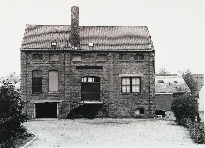 De voormalige brouwerij De Witte Leeuw in 1976. (Zeeuwse Bibliotheek, Beeldbank Zeeland, foto W. Helm)
