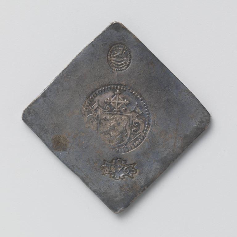 Noodmunt beleg van Zierikzee, 1572. (Rijksmuseum)