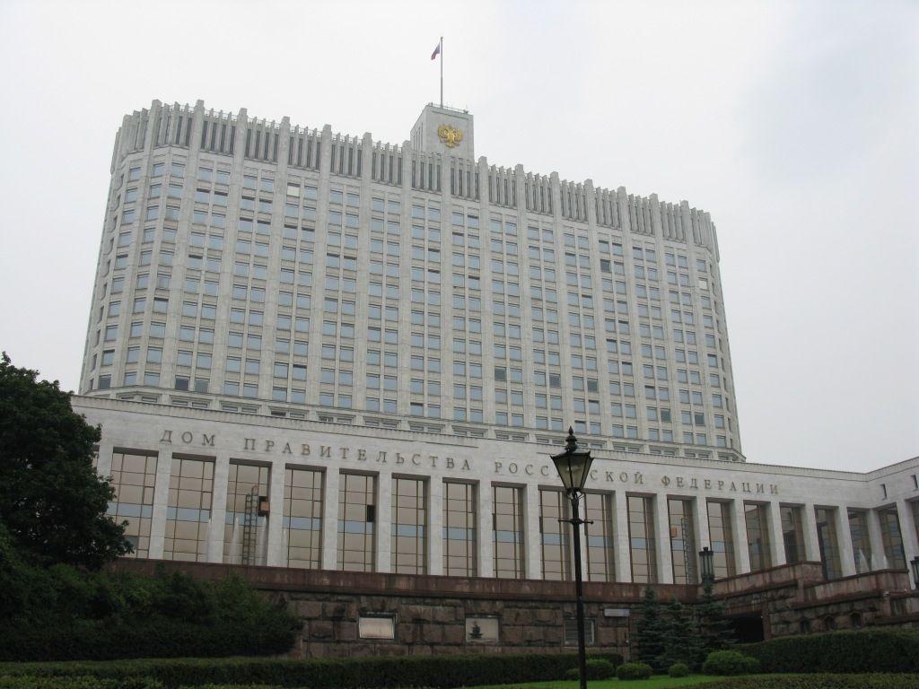 Sas Glas leverde ook het glas voor de parlementsgebouwen in Moskou. (Wikimedia, foto Andrew Bossi)