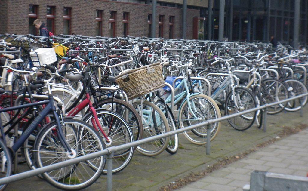 Staat hier de fiets bij van een aankomend talent? (foto Arnold Parre)
