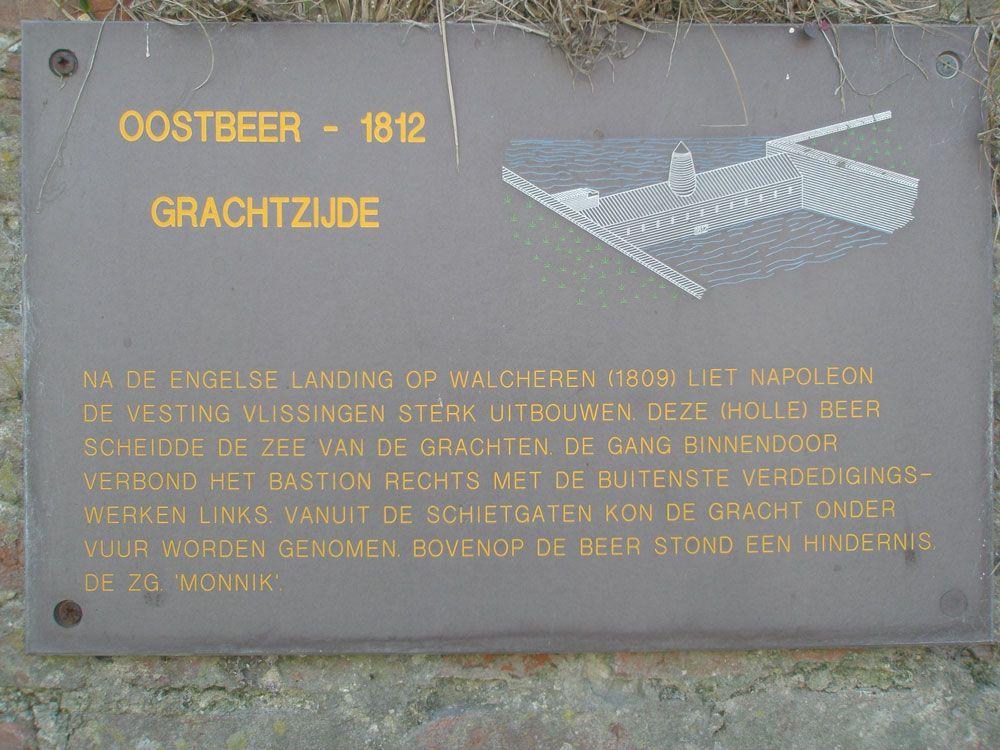 Op informatieborden wordt uitleg gegeven over de geschiedenis en de werking van de Oostbeer. (Beeldbank SCEZ)