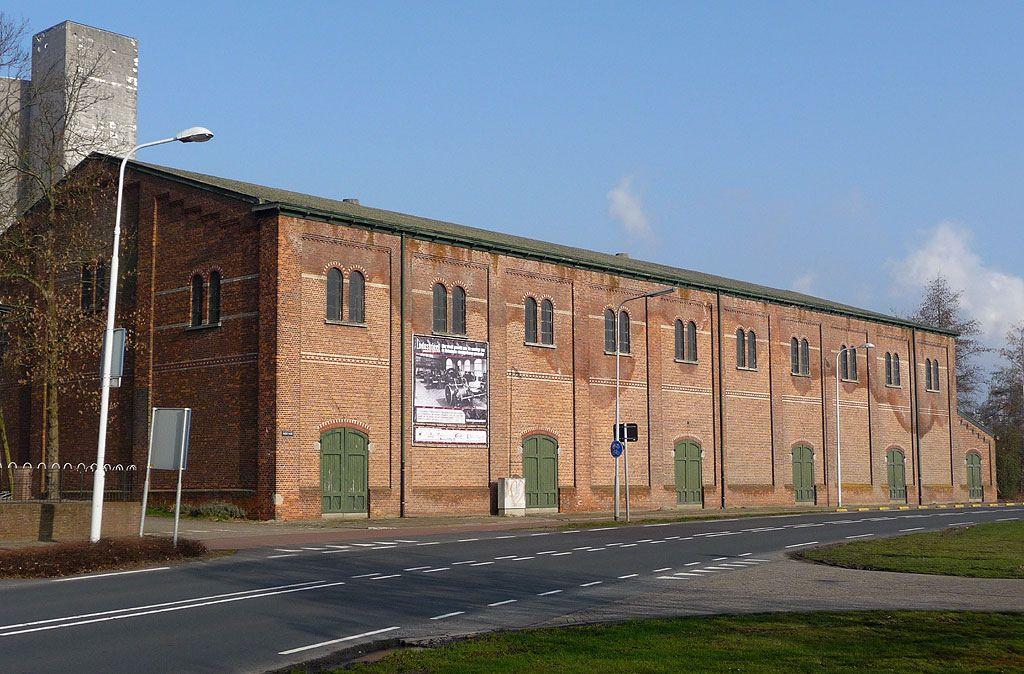 De suikerloods in Sas van Gent waarin het Industrieel Museum Zeeland wordt gevestigd. (Beeldbank SCEZ)