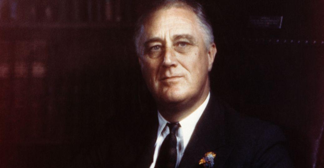 Franklin Delano Roosevelt (Bron: History)