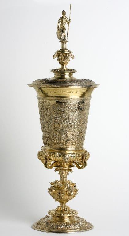 Beker van Maximiliaan. (Zeeuws Archief, verzamelingen van de gemeente Veere, GVE016)