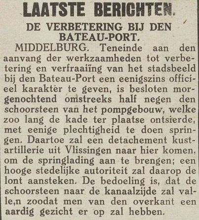 Middelburgsche Courant, 31 maart 1936. (Zeeuwse Bibliotheek, Krantenbank Zeeland)