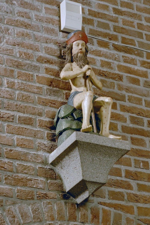 Beeld van Job in de kerk van Horst (Rijksdienst voor het Cultureel Erfgoed, Amersfoort).