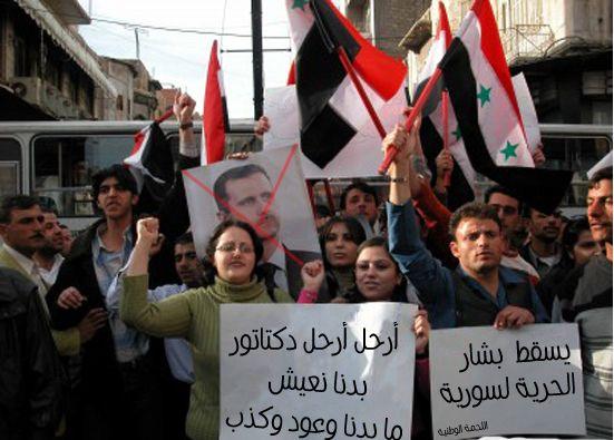 Revolutie in Syrië (Bron: Vluchtelingenwerk Zeeland)