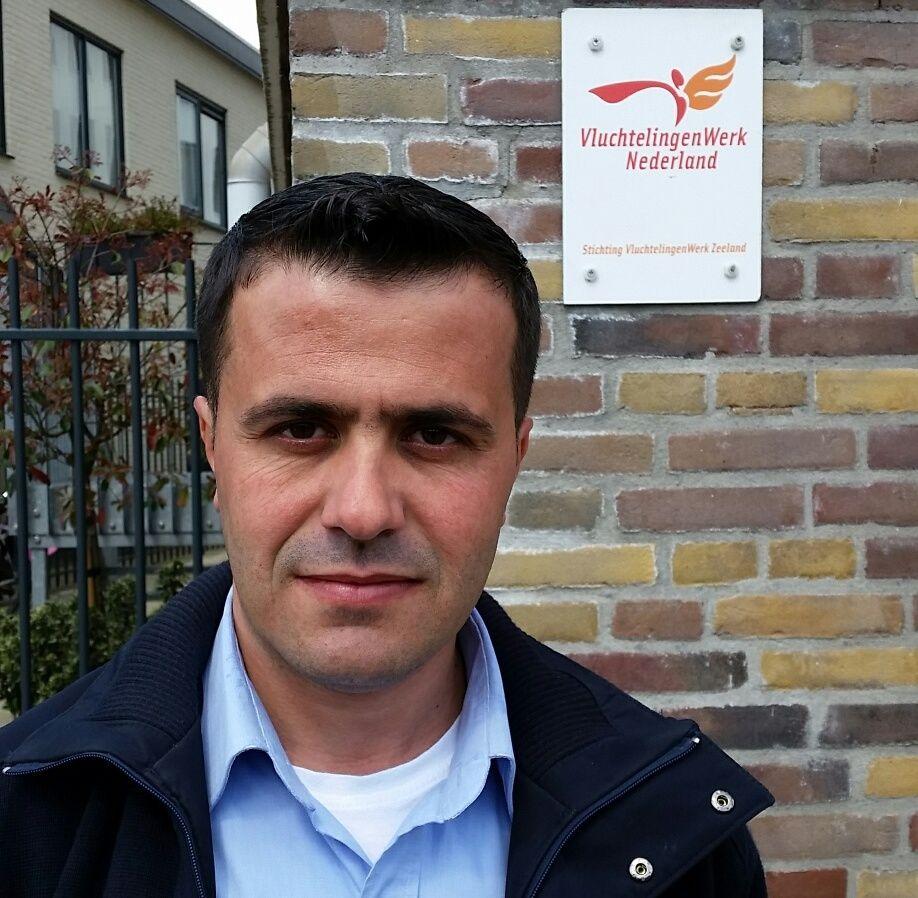 Ali Shikh Salo (Foto: Vluchtelingenwerk Zeeland)