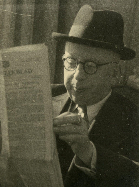 H.J. Doeleman (1884-1948), grondlegger van Zeelandia, omstreeks 1935. (Gemeentearchief Schouwen-Duiveland)