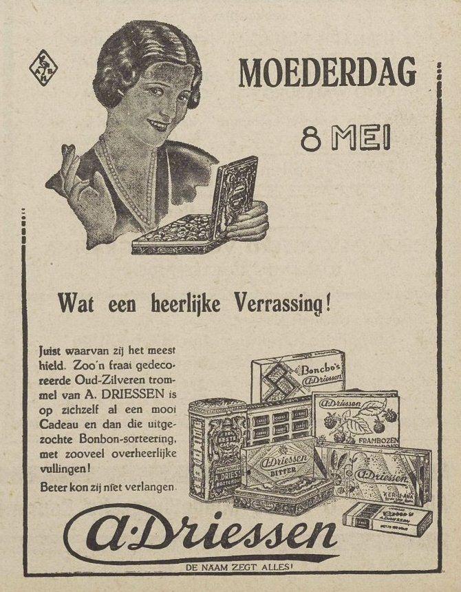 Middelburgsche Courant, 4 mei 1932. (Zeeuwse Bibliotheek, Krantenbank Zeeland)