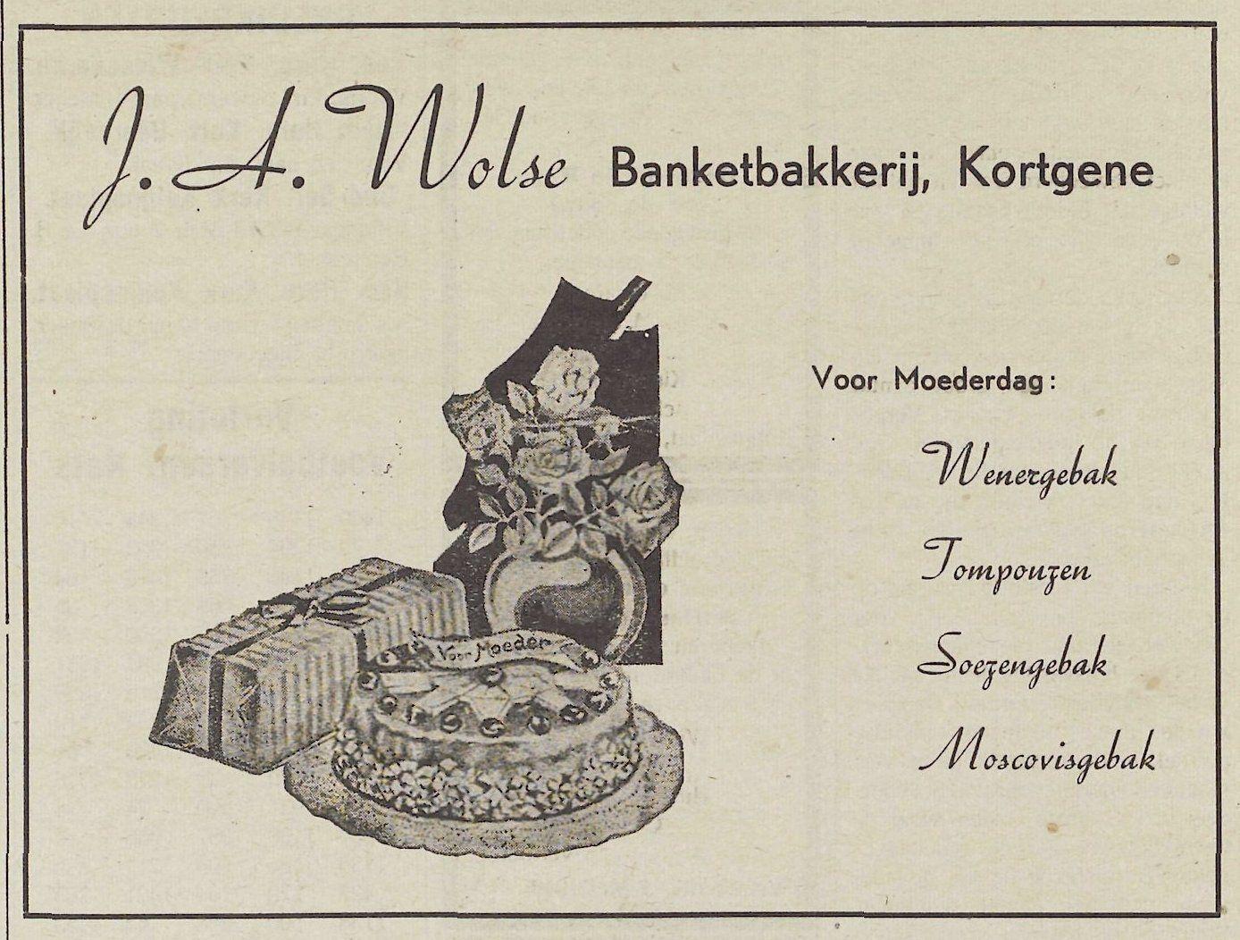 Noord-Bevelands Nieuws- en Advertentieblad, 7 mei 1949. (Zeeuwse Bibliotheek, Krantenbank Zeeland)