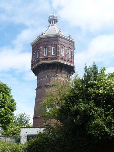 De Vlissingse Watertoren anno 2013, inmiddels 119 jaar oud. (Collectie auteur)