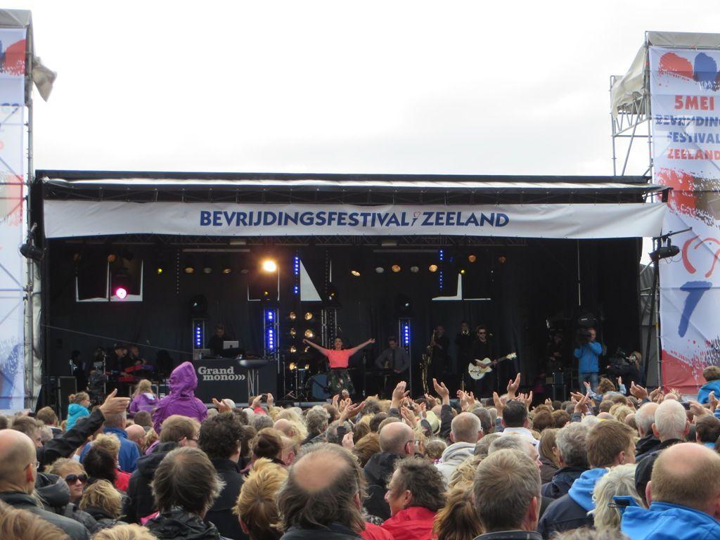 Bevrijdingsfestival Zeeland 2015. (Foto: SCEZ)