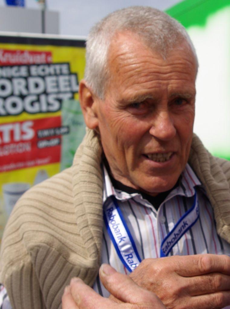 Jo de Roo: in 1965 winnaar van de Touretappe naar Bordeaux. (foto Arnold Parre)