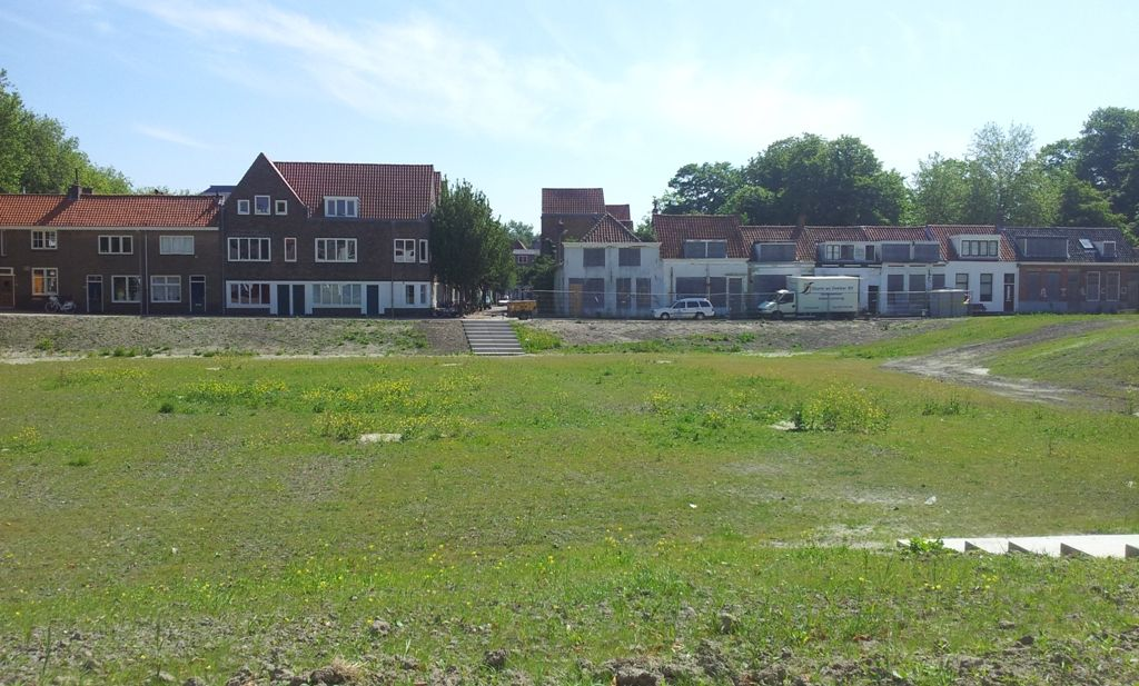 Het inmiddels ingezaaide 'gat van Middelburg'. (Foto: SCEZ)