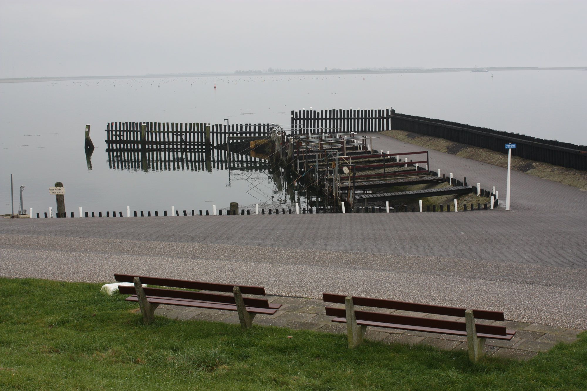 De haven van Strijenham in november 2011 (Beeldbank SCEZ)