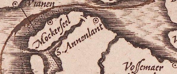 Op een kaart van C.J. Visscher uit 1630 staat Moggershil (hier Mockerseel) nog als plaats aan de noordkust van het eiland aangegeven (Zelandia Illustrata I-0071).