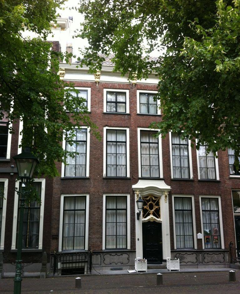 Het voormalige woonhuis van Job Baster aan het Havenpark in Zierikzee.