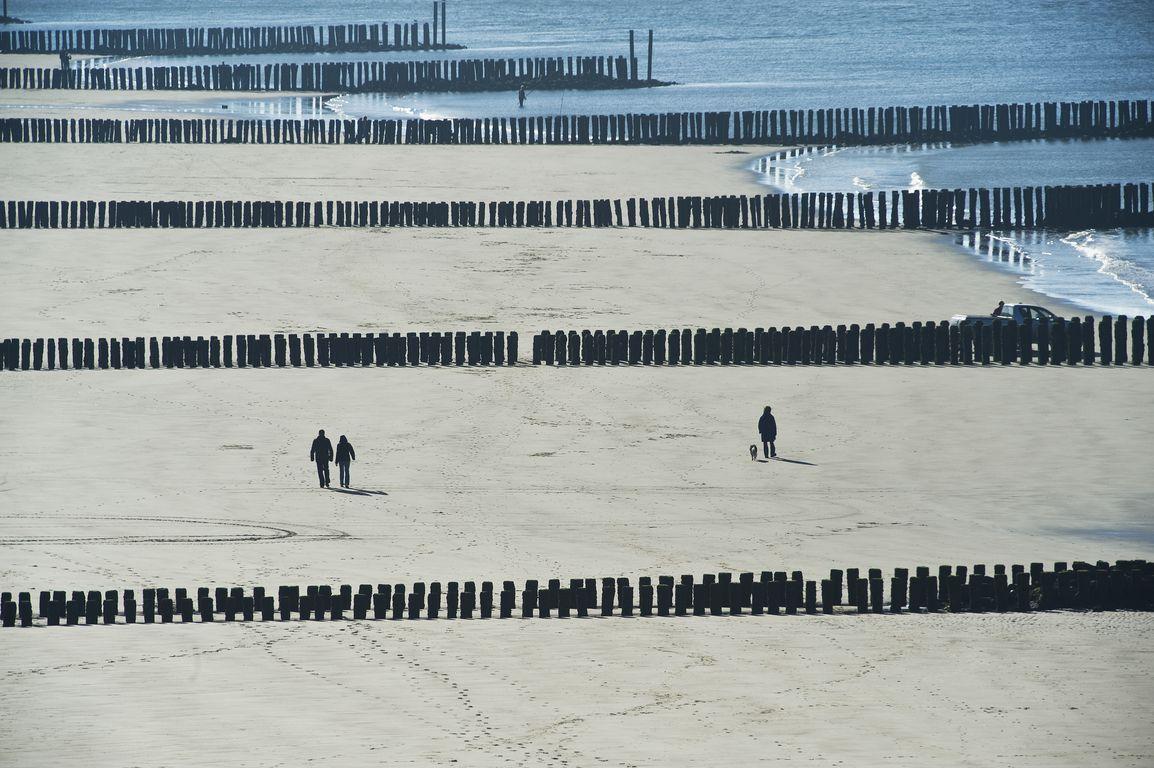 Strand bij Westkapelle. (Foto Felice Buonadonna voor DNA Beeldbank Laat Zeeland Zien)