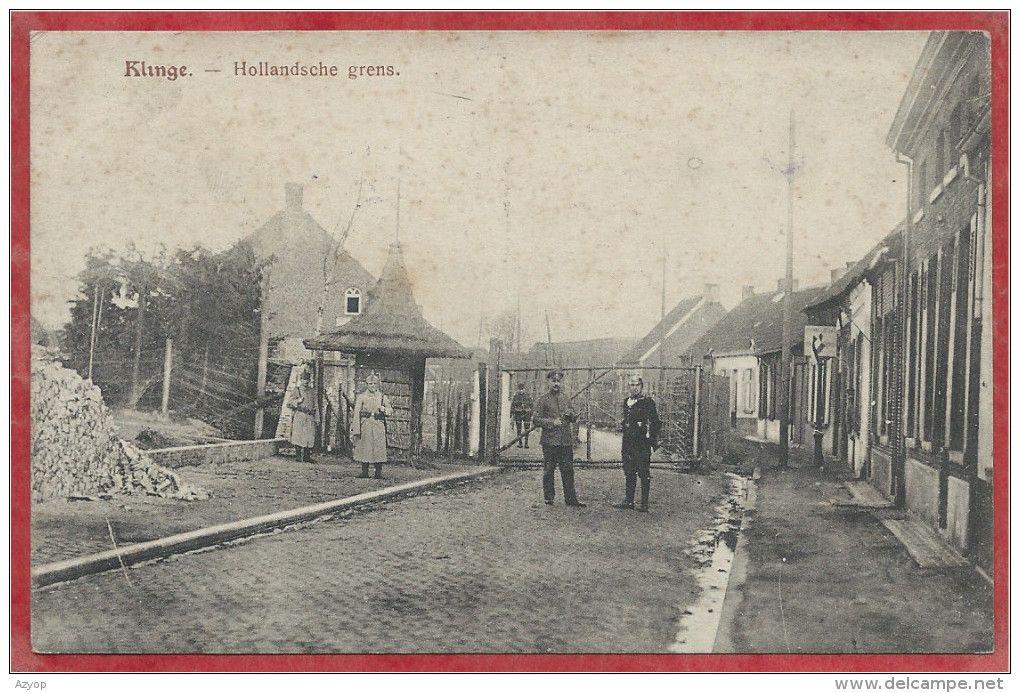 De Doodendraad volgde de landsgrens en liep soms dwars door grensbebouwing heen, zoals in Clinge/De Klinge.