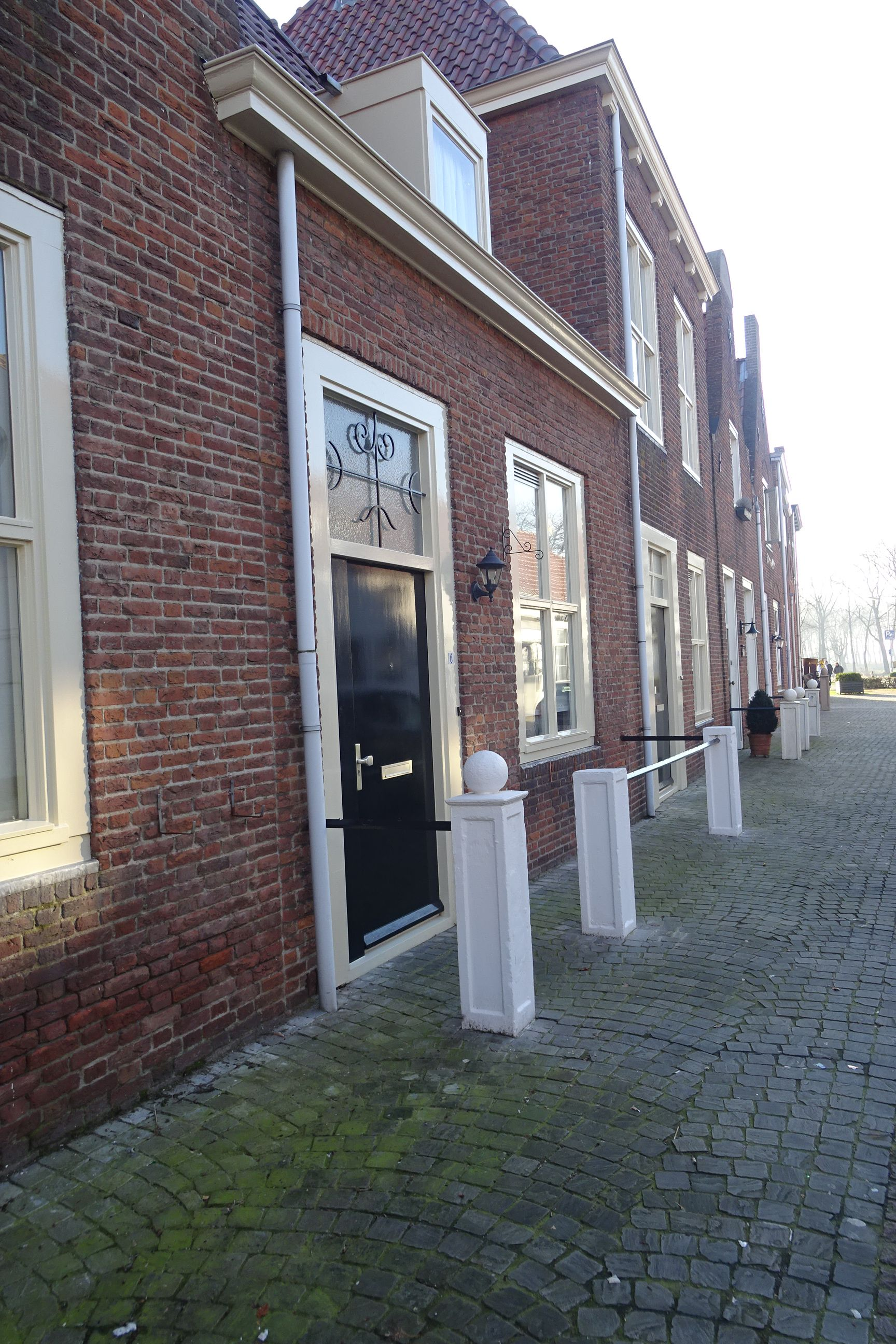 Stoeppalen in de Smeestraat. (Foto collectie H. Hendrikse)
