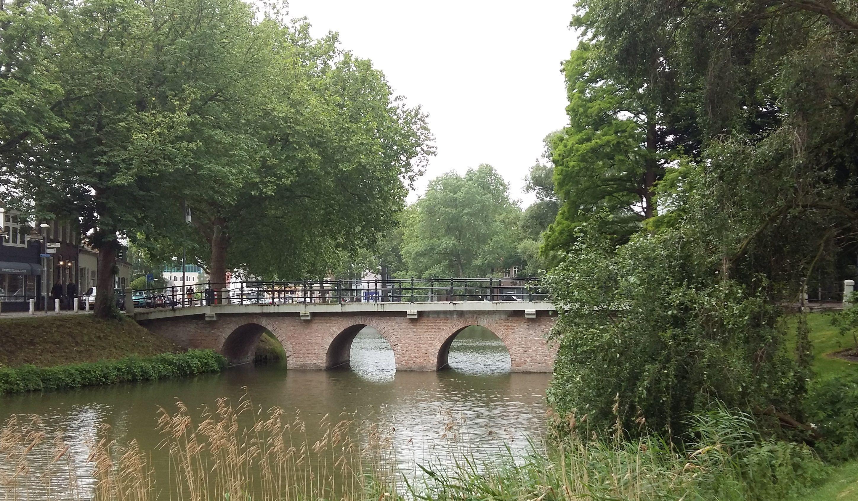 De Ganzepoortbrug, ook wel de Stenen Brug.
