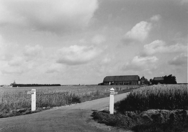 Boerderij 'Klooster Bethlehem' omstreeks 1960. (ZB, Beeldbank Zeeland)