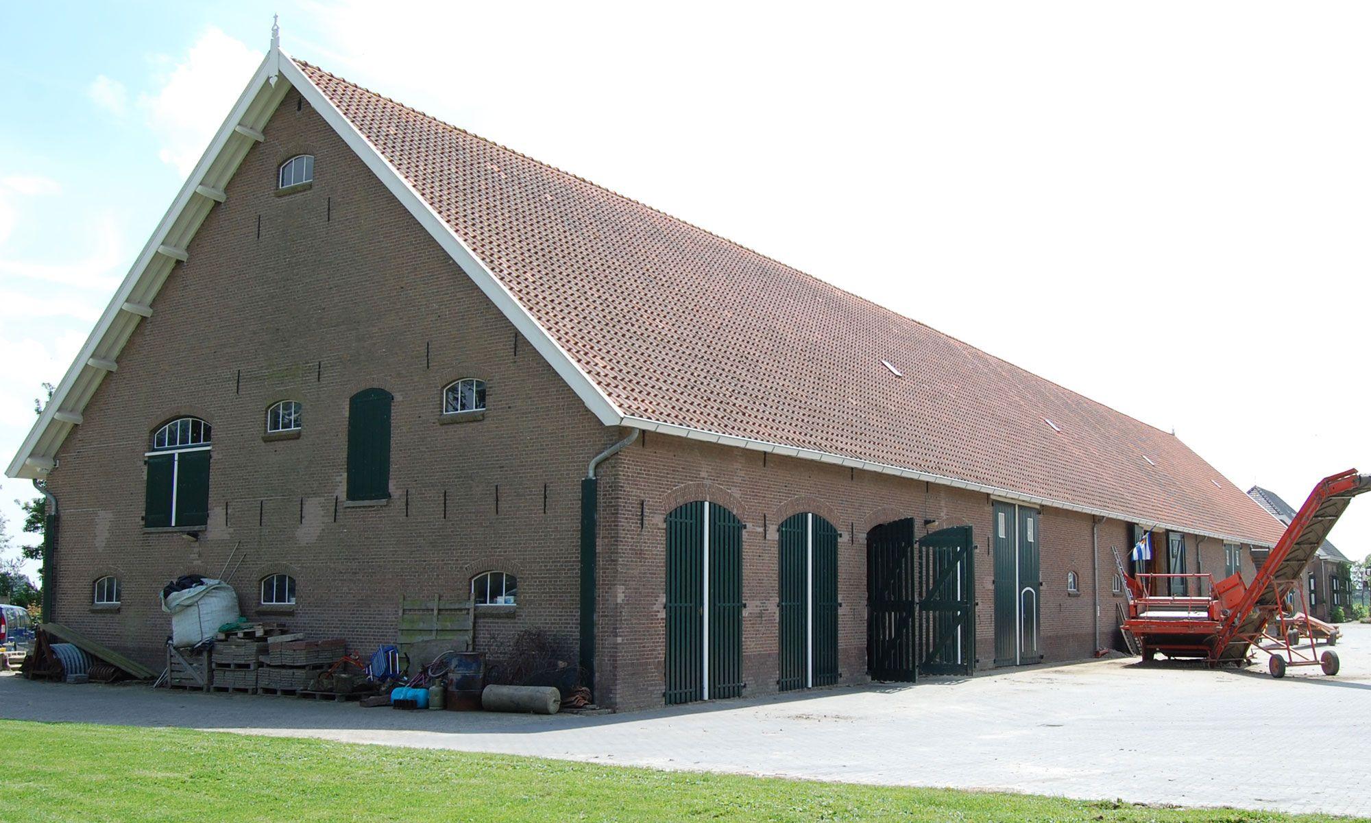 Boerderij Oranjepolder in Arnemuiden. (Beeldbank SCEZ)