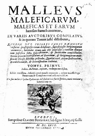 Titelpagina van De Heksenhamer.