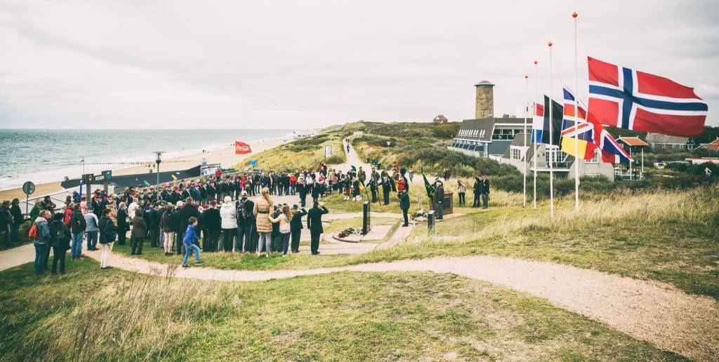 Herdenking bevrijding van Domburg door de geallieerden op 1 november 1944. Foto Daniël Steenbergen, 1 november 2016.