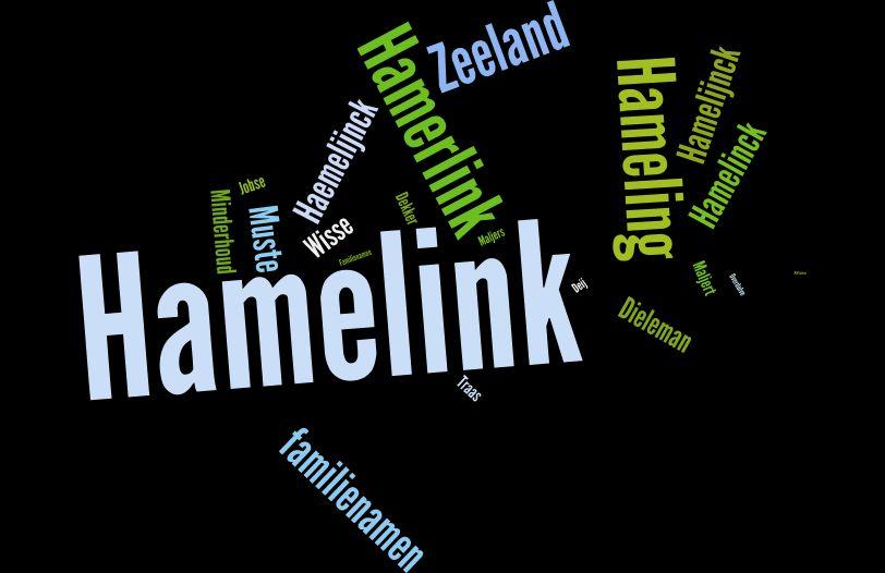 Hamelink is de meest frequente naam in Terneuzen