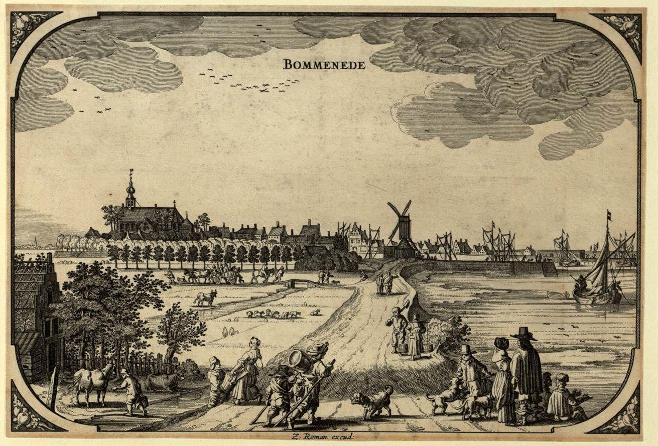 Bommenede 17de eeuw