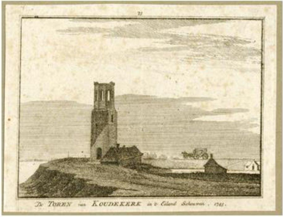 Koudekerke - Schouwen-Duiveland - 1743
