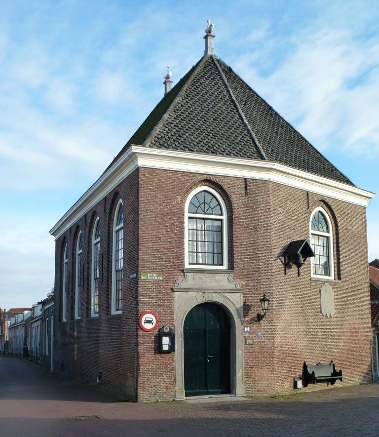 Lutherse kerk op het Gat van West Noord Westen. (Beeldbank SCEZ)