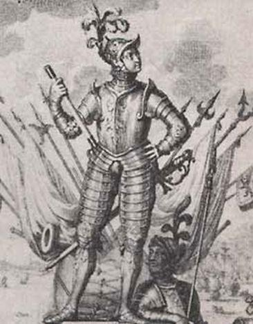 Jonker Frans van Brederode (bron: wikidelft.nl).