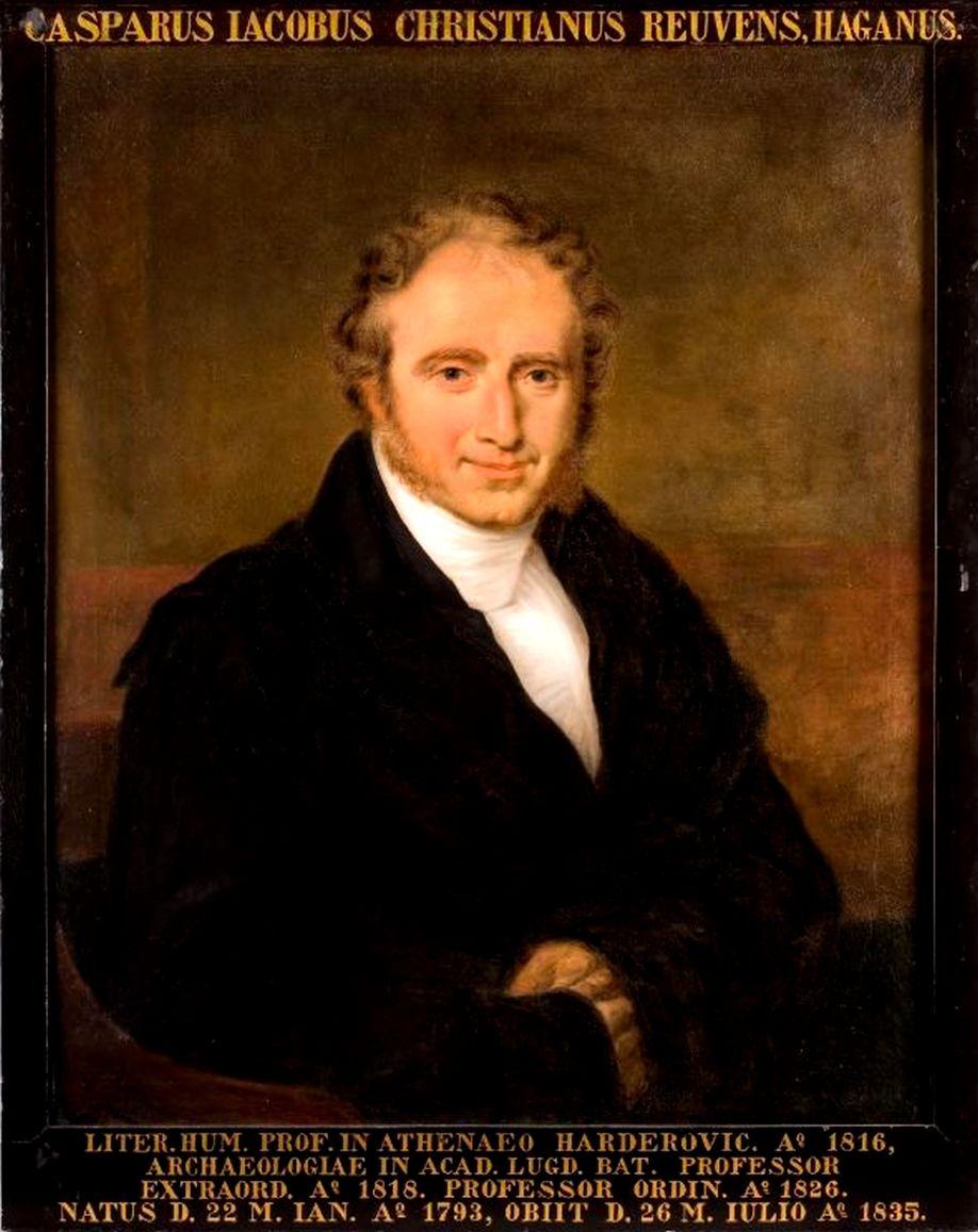 Caspar Reuvens (1793-1835); olieverfschilderij door Louis Moritz.