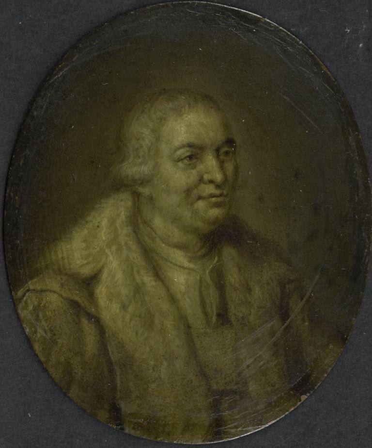 Jason Pratensis, geneesheer te Zierikzee. 18de-eeuws schilderij door Jan Maurits Quinkhard. (Collectie Rijksmuseum)