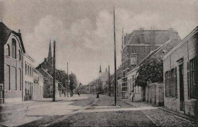 Sint Jansteen omstreeks 1920. (ZB| Beeldbank Zeeland)