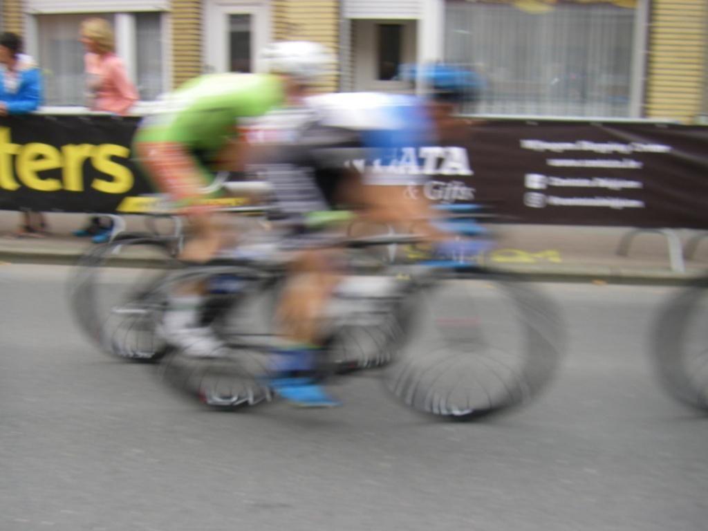 Gerben Karstens, Gerrie Knetemann en Jan Raas waren zeer rappe sprinters die geen angst kenden. (Foto Arnold Parre)