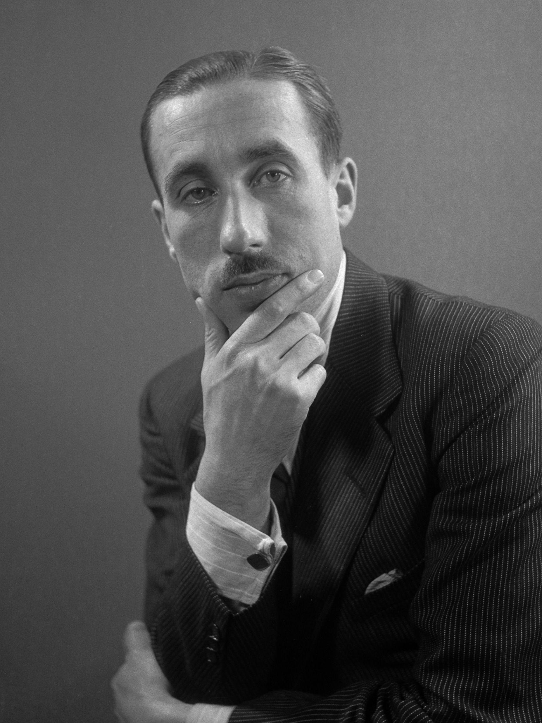 Leonhard Huizinga (1906-1980) in 1945.