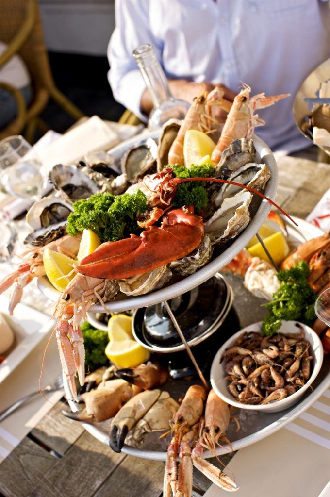 Culinaire creativiteit: gerechten met vis, schaal- en schelpdieren. (foto VVV Zeeland)