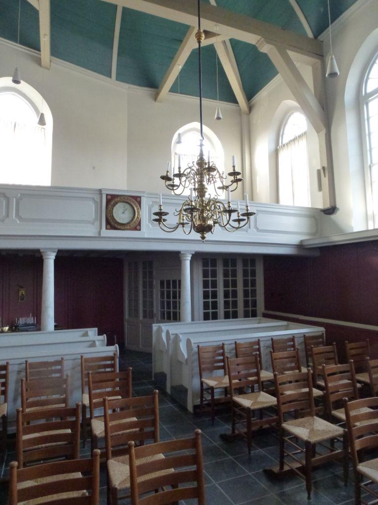 Interieur van de Lutherse kerk in Zierikzee, 2013. (Beeldbank SCEZ)