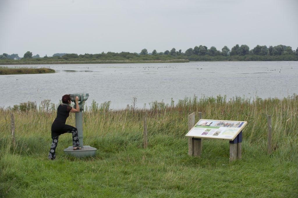 Het Veerse Meer is een recreatie- en natuurgebied dat ontstond bij de aanleg van de Deltawerken. (DNA Beeldbank Laat Zeeland Zien, foto Ben Biondina)