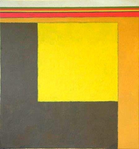 Lijnen en kleurvlakken beheersen het werk van Antoine Mes.